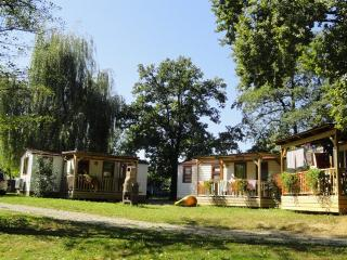Mobile home by the Kolpa River, Metlika