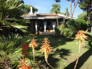 Villa Stella at 150 m. Stella Marina beach, next to Forte Village wifi internet