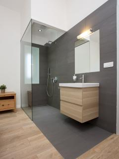 In-romm shower
