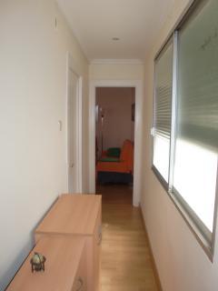 Pasillo interior, entre el dormitorio 2 y el comedor
