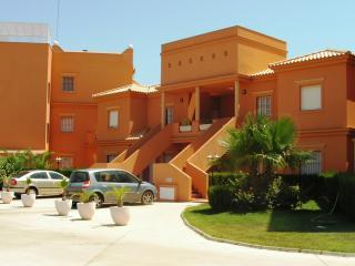 Front view of la hacienda