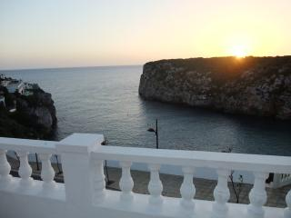 Sunset from the balcony, with a jug of Sangria and a little Tapas, chin chin!