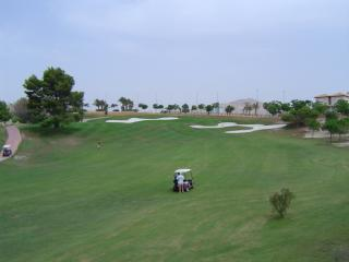 Part of the well maintained golf course