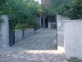 Il cancello d'ingresso