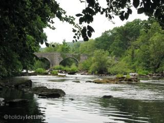 The River Usk in LLangynidr