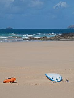 Catch a wave at Polzeath