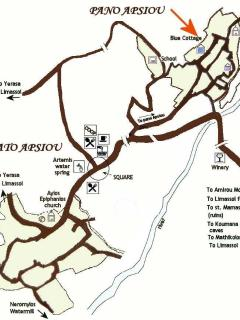 Apsiou village map
