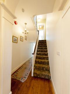 hallway and the start of the staircase!