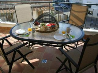 Start your day with breakfast on the balcony