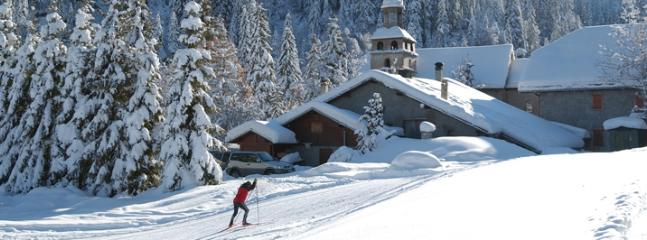 Local ski du fond