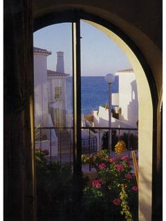 peeping to the sea