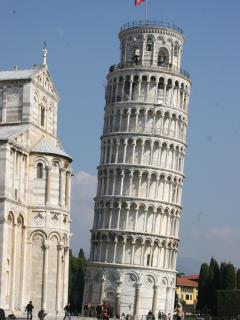 You can fly into Pisa airport and visit the famous tower, as it is only 1 hour away by car