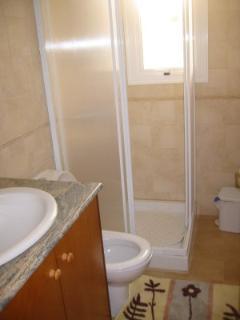 Shower room next to master debroom