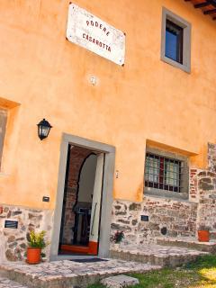 Podere Casarotta - 'Gli Archi' entrance
