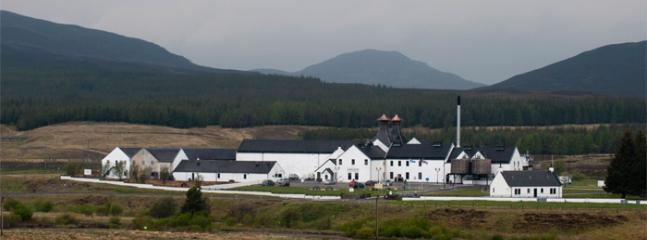 Dalwhinnie Distillery is on the doorstep