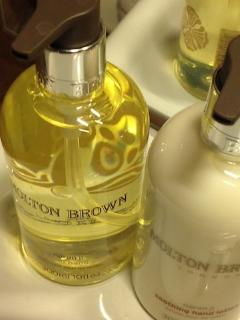 Molton Brown products provided