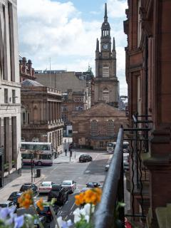 Cityscape: View from Balcony - east towards St George's Tron & Buchanan Street