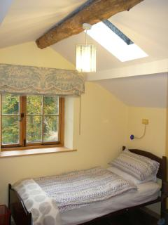 Single bedroom at Broughton Bank Cottage