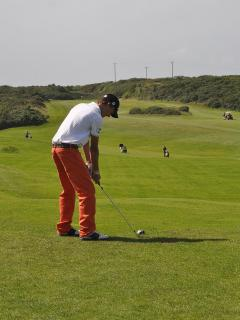 Holyhead Golf Club 1st tee