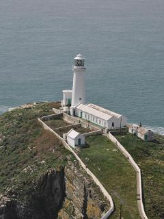 South Stack lighthouse on Holyhead mountain