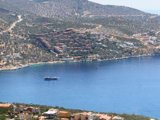 Kalkan bay from the villa