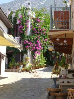 A street in Kalkan