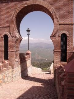 The Moorish Archway In Comares