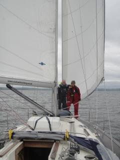 Sailing around Largs, 20mins from cottage (lessons and hire available Largs marina, Scotsail