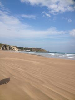 Whitepark Bay Beach.