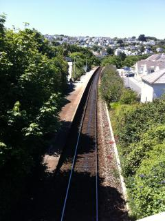 Branch Line Train in to St Ives