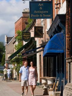 Visit Ashbourne a lovely market town with independent shops, cafes, delis, street market, antiques