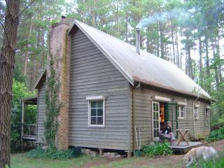 The back of the cottage