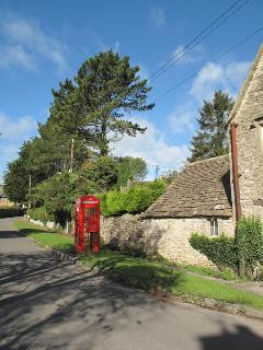 Village telephone box