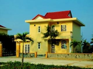 Villa A4 on private beach in 3* resort