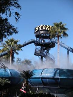 Take the plunge at Storm Disneys wild water ride