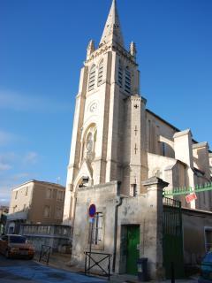 église du village