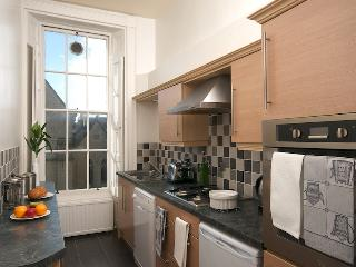 A fully equipped kitchen with everything you will need.