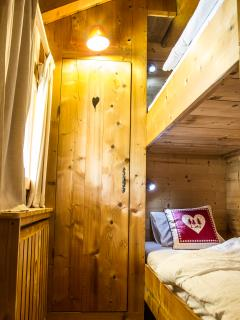 Family suite bunk room
