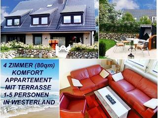 4 Zimmer Ferienwohnung auf Sylt Sylter Deichwiesen, Westerland