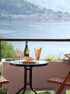 Enjoy a relaxing drink on the balcony with one of the most stunning views on earth.