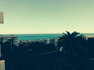 Nice Fabron, terrasse vue mer, piscine, tennis