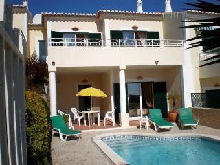 Casa Belamar. Spacious house in Praia da Luz with sea views and private pool.