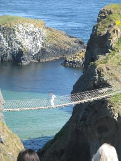 7 miles from The Byre....The Carrick-a-Rede Rope Bridge! Magical place to visit.