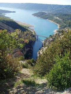 Gorges de Verdon is within easy reach by car