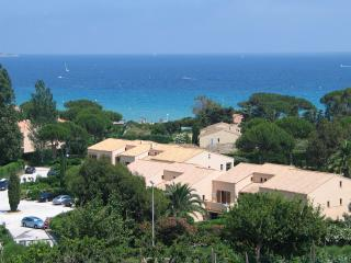 The view from the garden is almost 180 degrees of the Med. - looking South S/East