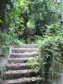 scala per il giardino superiore