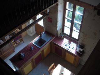 le gîte - mezzanine (loft).