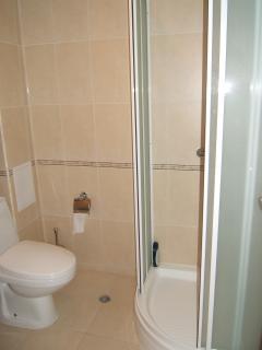 One of three en suite shower rooms
