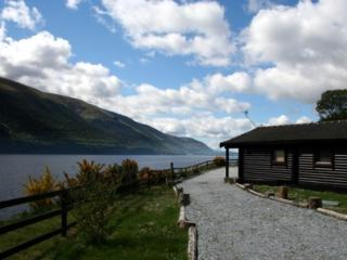 Highland Lodges on the shores of Loch Lochy,Scotland