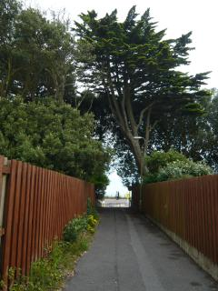 Footpath to the beach